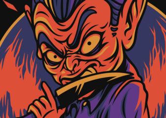 Eyes to Kill Halloween Theme T-Shirt Design