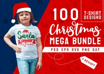 Christmas t shirt design bundle vector, Typography Christmas designs for t-shirt, Christmas quotes t shirt design svg png psd