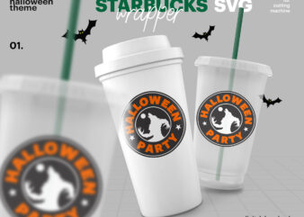 Starbucks Svg Logo And Wrap Starbucks Halloween Svg Reusable Starbucks Cup Svg Starbucks Venti Cup Starbucks Grande Cup Svg Png Cut File Buy T Shirt Designs