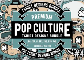 100 pop culture bundle #4