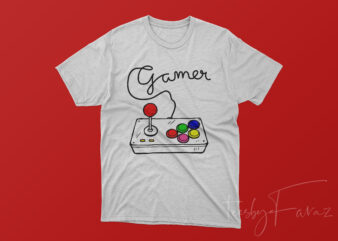 Gamer written with controller wire