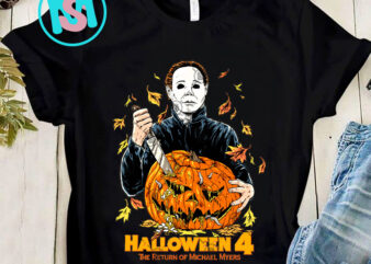 Halloween 4 The Return Of Michael Myers PNG, Halloween PNG, Movies PNG, Michael Myers PNG, Digital Download