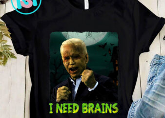 I Need Brains PNG, Halloween PNG, America PNG, Digital Download