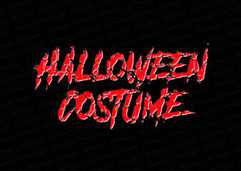 Halloween costume T-Shirt Design
