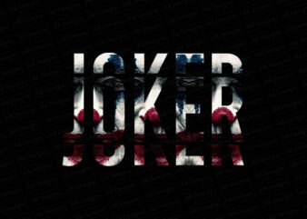 Joker why are you so serious T-Shirt Design
