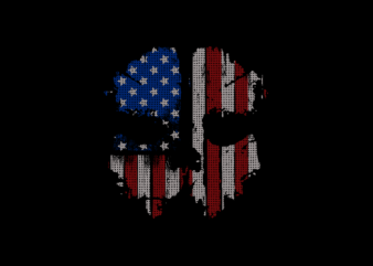 American skull mask t shirt design for download