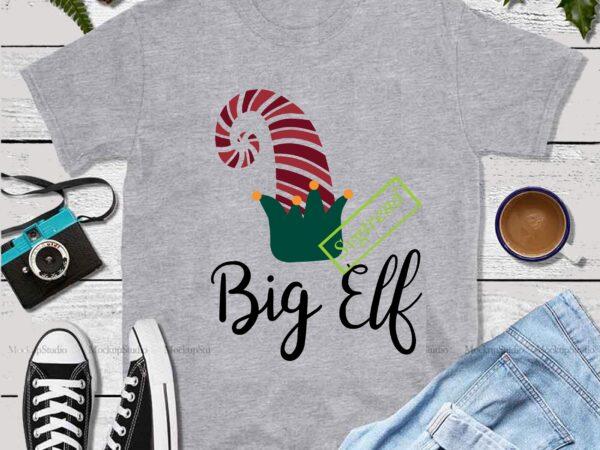 Hat of the elf in christmas Svg, Big Elf christmas Svg, Els vector, Big elf vector, Merry Christmas vector, Christmas 2020 vector, Christmas logo, Funny Christmas Svg, Christmas svg, Christmas vector