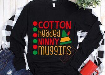 Cotton Headed ninny muggins vector, Cotton head for christmas Svg, Cotton Headed ninny muggins Svg, Merry Christmas, Christmas 2020, Christmas logo, Funny Christmas Svg, Christmas, Christmas vector