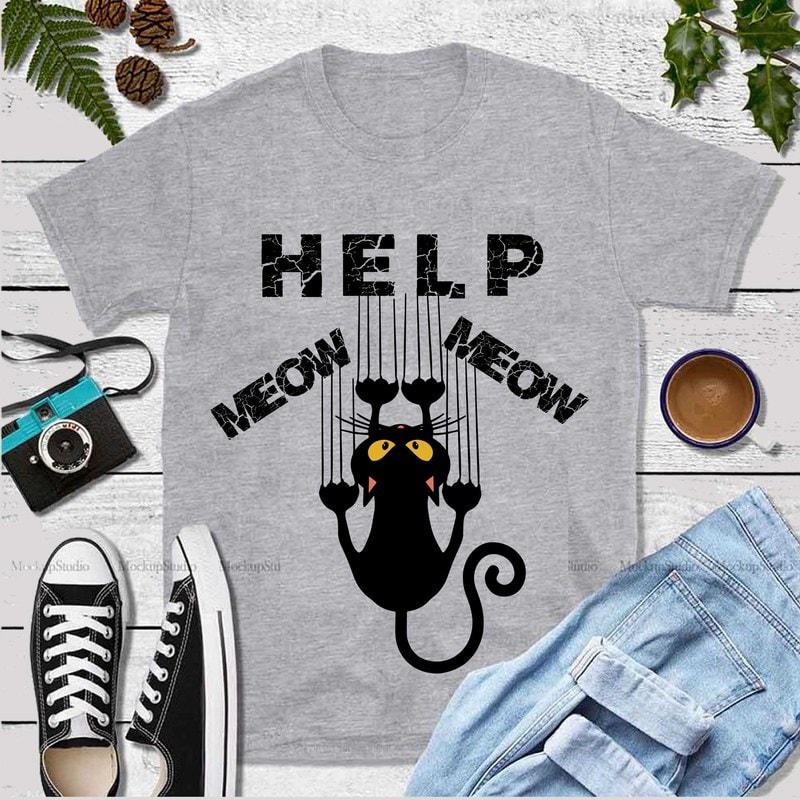 Download Kittens black logo, kittens black svg, cat svg, kitten svg ...