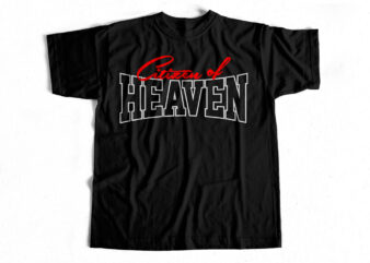 Citizen of Heaven – Christianity t-shirt design for sale