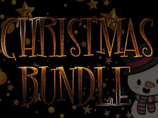 Christmas BUNDLE t shirt vector file