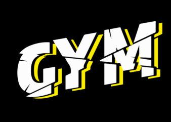 gym typo