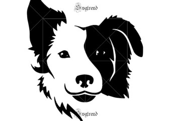 Collie Dog Images, Collie Dog logo, Collie Dog vector, Dog Svg, Border Collie Svg, Collie Svg, Border Collie Vector, Pet Quote svg, Funny Dog Mug svg, Collie vector, Make My Head svg, Dog vector, Dog logo