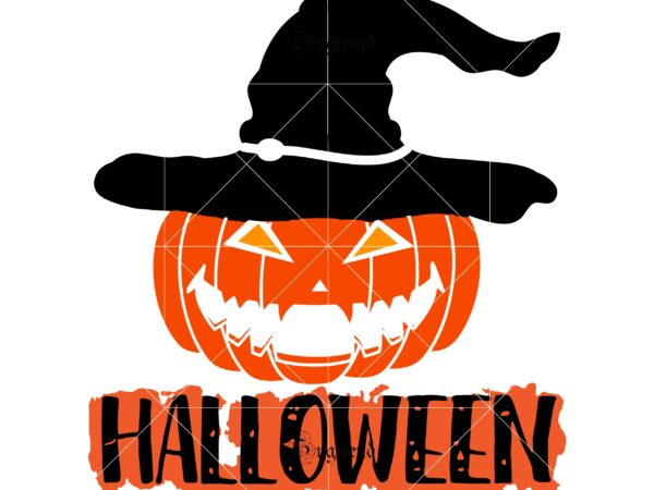 45+ Happy Halloween Pumpkin – Svg, Dxf, Eps Cut File Design