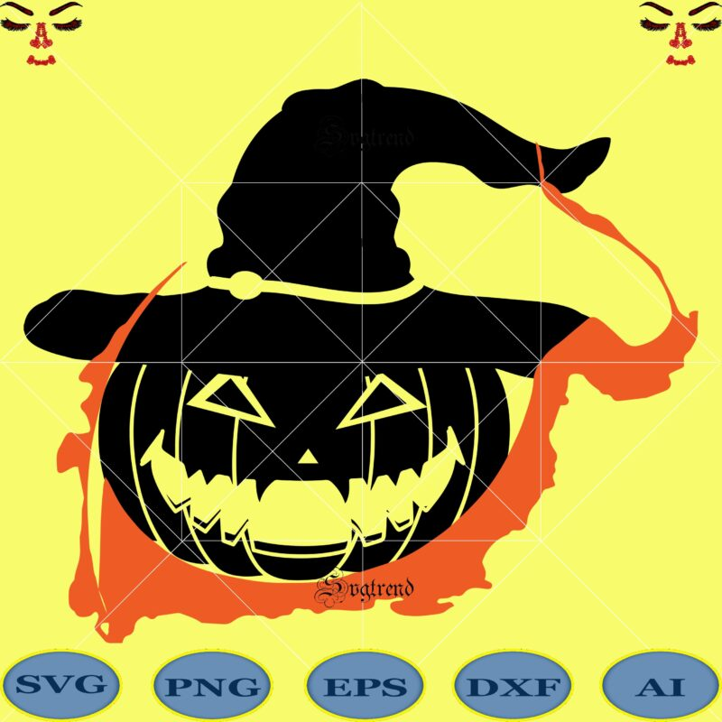 Pumpkin Svg Pumpkin Vector Pumpkin Are Used To Dress Up During Halloween Svg Day Of The