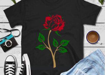 Rose svg, roses svg, rose clipart, rose silhouette, rose svg file, rose vector, rose cut file, rose flower svg, rose png, rose clip art