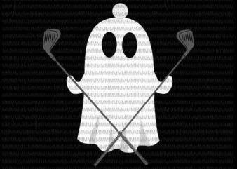 Golfer Halloween svg, Costume Ghost Golf Ball Apparel, funny Halloween svg, funny ghost svg, boo sheet halloween svg,