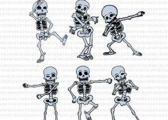 Dancing Skeleton Dabbing Skeletons SVG, Dancing Skeleton Dabbing Skeletons, Dancing Skeleton svg, Skeleton Dabbing, Skeleton halloween svg, halloweeen svg, png, eps, dxf file