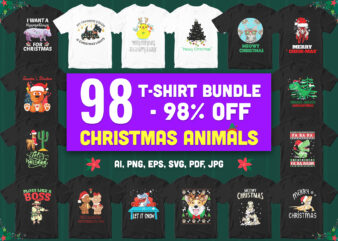 98 special christmas animal lover bundle!