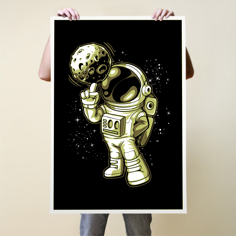 Astronaut T-shirt Designs Bundle Part 6