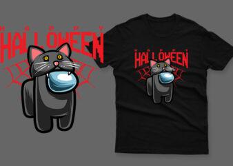 happy halloween black cat impostor