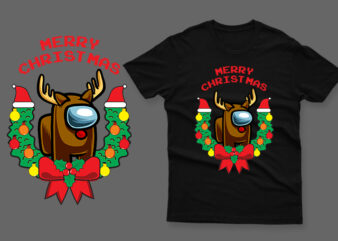 merry christmas impostor deer