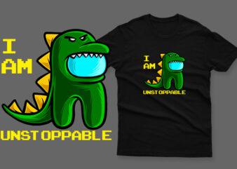 unstoppable t-rex impostor