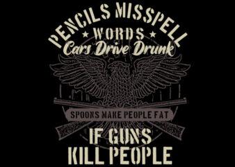 Pencils Misspell Words