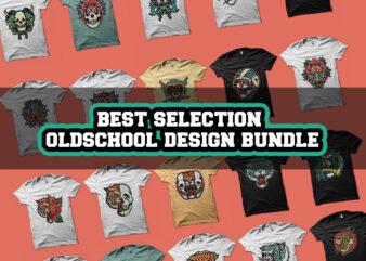 best selection oldschool design bundle