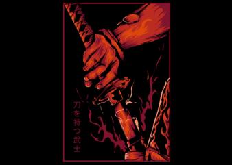 samurai 0.1 T-Shirt Design
