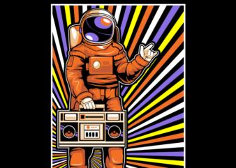 Astronaut love music