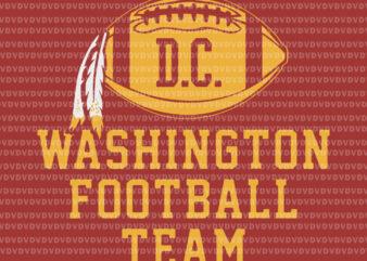 Washington football team svg, Washington football team png, Vintage Washington Football DC Sports Team Novelty, Let's go football team vector, football svg, football vector, eps, dxf, png file