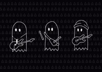 Sunset Curve Ghosts SVG, Sunset Curve Ghosts, Sunset Curve Ghosts PNG, ghost vector, ghost halloween svg, halloween vector