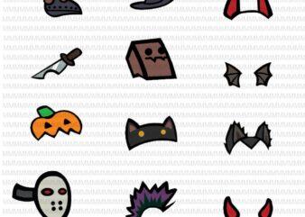 12 Among Us Halloween Bundle SVG, Among Us Shirt SVG, Among Us Ghost svg, Cute Among Dead SVG , Among us cup Svg, Png ,Custom Cut file ,Cricut