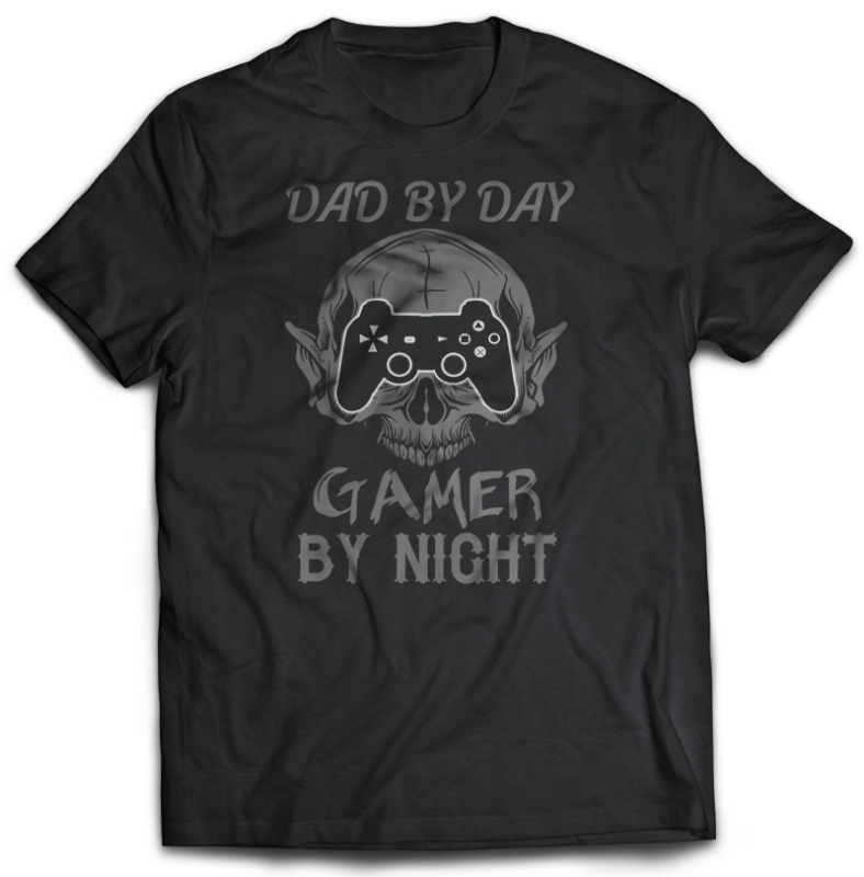 71 GAMER Gaming Tshirt best of gamer 2021 designs bundle editable PSD NEW REVISION