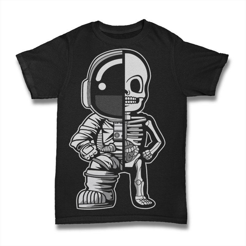 30 Astronaut Cartoon Designs Bundle #2