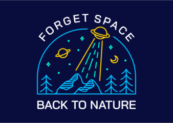 Forget Space, Back to Nature 3