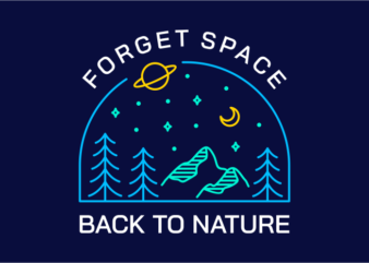 Forget Space, Back to Nature 1