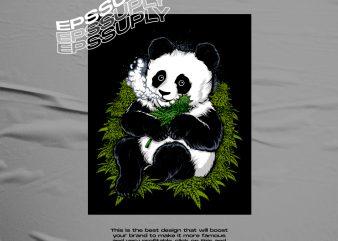 PANDA EATS CANNABIS
