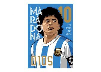 MARADONA D10S