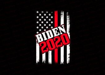 American flag, USA flag, United state flag, USA biden 2020 flag T-Shirt Design