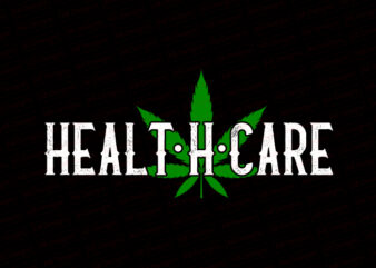 Heal the healing center are, I Love Weed T-Shirt Design