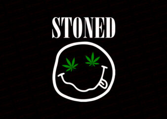 Stoned smile T-Shirt Design