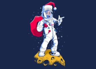 Santa Astronaut