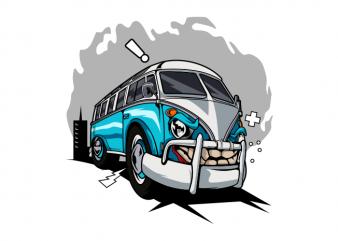 Transporter monster car