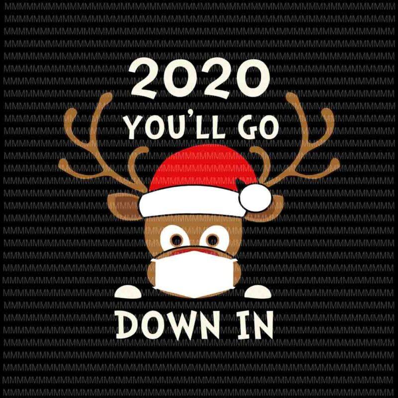 Quarantine Christmas Clipart