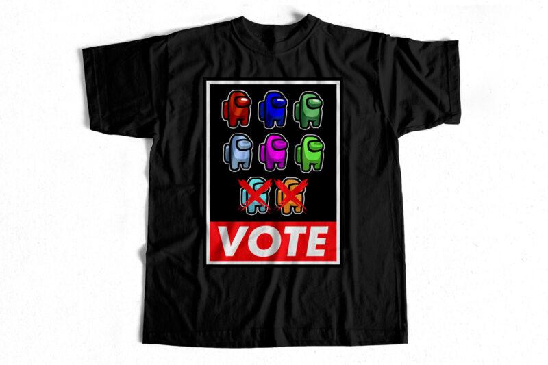 Unique Bundle Among Us T-Shirt designs for Sale – Trending Bundle – Discounted Price