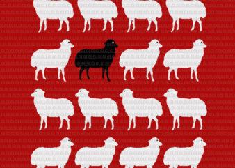 Womens Princess Diana Holiday Black Sheep SVG, Princess Diana Holiday Black Sheep, Princess Diana Holiday Black Sheep Sweater Memorabilia, Sheep svg, sheep vector