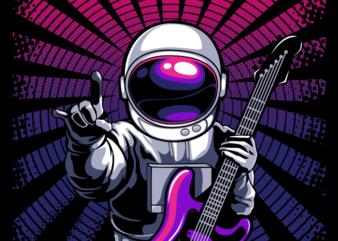 Astronaut Be A Rockstar