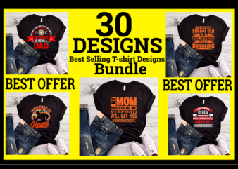 Best selling T-shirt designs bundle